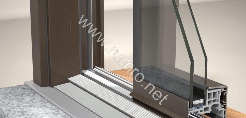 تولید و نصب درب و پنجره آلومینیوم دوجداره