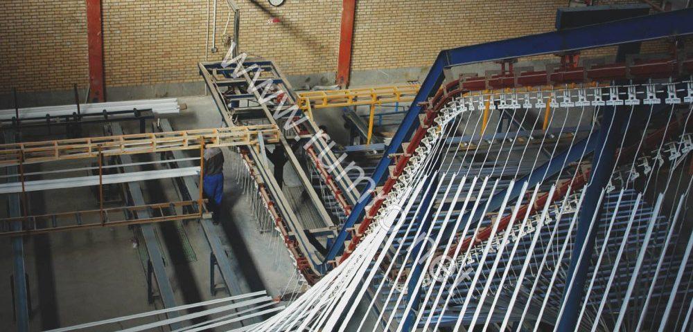 واحد زیرسازی کامل کرومات پروفیل آلومینیوم